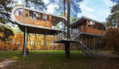 Innovational Ideas Tree House Design Amazing Contemporary Tree House By  Andreas Wenning
