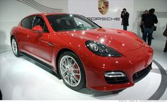 """Porsche Panamera.  I try to justify this car as a """"practical"""" alternative to a sports car.  Four doors and a hatchback trunk.  Seems reasonable to me."""