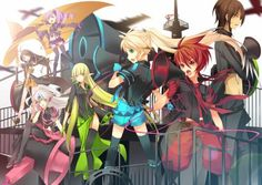 eve and raven elsword - Google Search