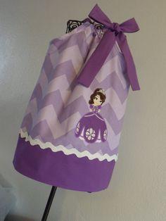 Princess Sofia The First Pillowcase Dress. $28.00, via Etsy.