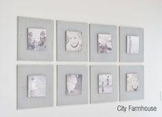 City Farmhouse: DIY Gallery Wall