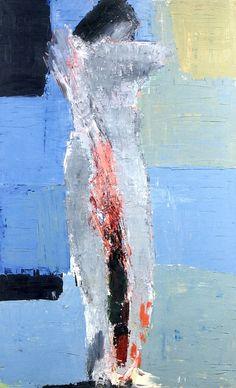 Standing Nude Nicolas de Stael - 1953