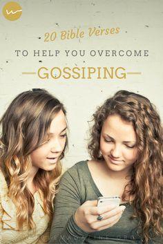 20 Bible Verses to Help Overcome Gossiping // Whole Magazine