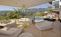 Drooling at these views!  Hollywood hills patio