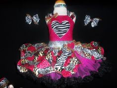 valentine pageant wear | Wild For You Brand New..by BCB Pageantwear OOAK