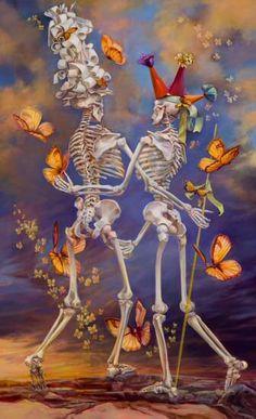 Iva Morris Painting - Pas de Deux