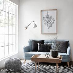 Holzmöbel, Pastellfarben und weiße Wände: Ein skandinavischer Look im Wohnzimmer kann mit wenig Aufwand umgesetzt werden. Wichtig ist dabei nur, dass der…