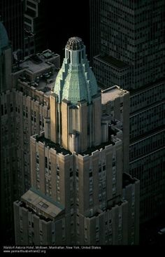 NYC. Manhattan. Waldorf Astoria building. // Taringa!