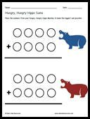 Hungry, Hungry, Hippo Math - Use games to enhance your math centers