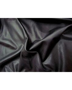 Textured Leather Look Spandex- Black - $29.95