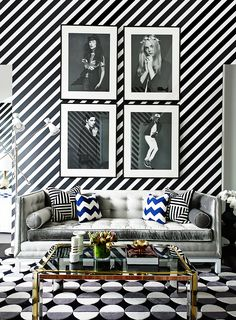 18 Stunning Spaces Where Pattern Rules via @MyDomaine