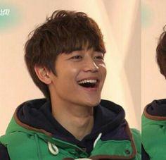 Minho cute smile :-)
