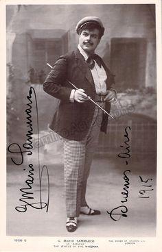 Sammarco, Mario - Signed Photo