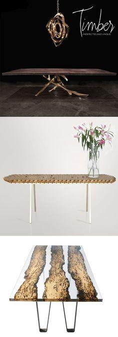 Unique Wood Dining Tables | Dine X Design