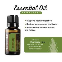 Rosemary essential oil #doTERRA -------------------- www.thisdoterralife.com zimmerman.essentials@gmail.com