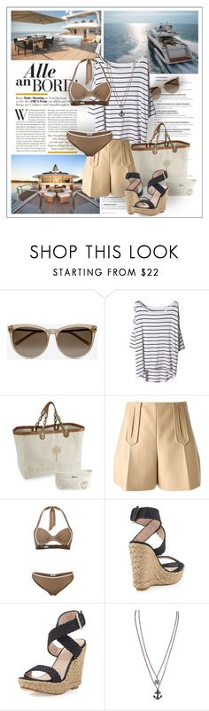 """""""Untitled #184"""" by senalica ❤ liked on Polyvore featuring Yves Saint Laurent, Carven and Stuart Weitzman"""