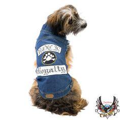 Bret Michaels Pets Rock™ Jean Vest  - PetSmart