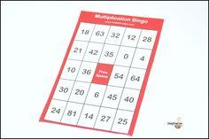Multiplikations-bingo