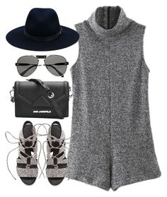 """""""Sin título #1109"""" by osnapitzvic ❤ liked on Polyvore featuring WithChic, Rebecca Minkoff, Chloé, Karl Lagerfeld and rag & bone"""