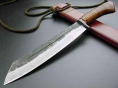 Japanese-style knives SAJI Warrior fires (358)