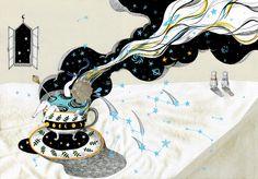 Bath of moon (by Ye-seul Yeom)