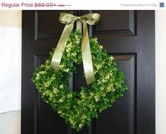 SPRING SALE 10% OFF spring wreaths door decor Easter by aniamelisa