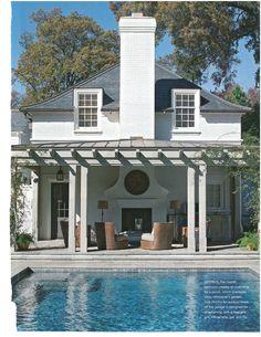 Pursley Dixon pool house