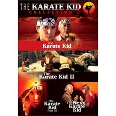 The Karate Kid Collection (Four Film Set) - - The Karate Kid A fatherless teenager faces his moment of truth in The Karate Kid. Daniel (Ralph Macchio) arrives in Los Angeles from the east coast and fa The Karate Kid, Karate Kid Movie, Four Movie, Movie Tv, Movie Titles, Movie Characters, William Zabka, Elisabeth Shue, Dioramas