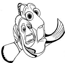 Marlin Is Finding Nemo Coloring Page Free Printable - 750×1000