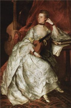 Portrait of Ann Ford (later Mrs. Thicknesse), 1760 Thomas Gainsborough
