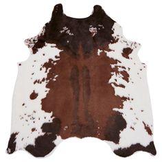 Rug GRENSTEN Cow brown € 35 139x146 cm