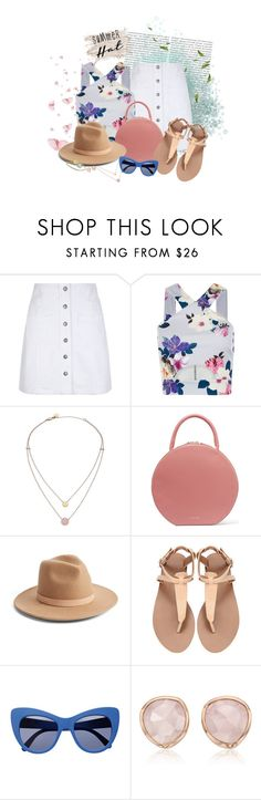 """Summer Hat - Fresh Mood!"" by andymorenah ❤ liked on Polyvore featuring Oris, New Look, Michael Kors, Mansur Gavriel, Lack of Color, STELLA McCARTNEY, Monica Vinader and summerhat"