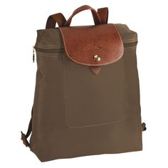Backpack - Le Pliage - Handbags - Longchamp - Taupe - Longchamp United-States