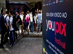 Palco para a cultura de internet, o youPIX Rio 2012 acontece entre os dias 10 e 11 dezembro, das 13h à meia noite, no Centro Cultural da Ação da Cidadania (CCAC), na região portuária do Rio de Janeiro. A entrada é Catraca Livre.