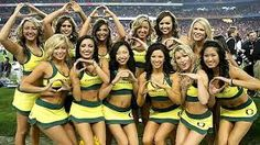 HOTTEST Alabama Univesity cheerleaders - Google Search Oregon Cheerleaders, University Of Oregon, Oregon Ducks, College Girls, Cheerleading, Alabama, Bikinis, Swimwear, Athlete