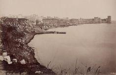 Kazlıçeşme ve Yedikule (1880'li yıllar. G. Berggren) #Zeytinburnu #istanbul