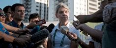 PHOTO: The Chef de Mission for Australia at the 2016 Rio Olympic Games, Kitty Chiller, speaks to the press after deciding not to move into the Olympic Village on its opening day in Rio de Janeiro, July 24, 2016.