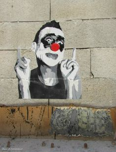 "Artist :Mimi Le Clown  ""Berlin"""