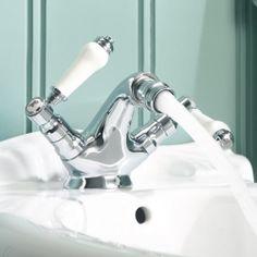 Traditional Chrome Bathroom Toilet Lever Handle Brass Bidet Mixer Tap TB133 | eBay