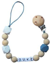 Speenkoord met naam   Lovelinn Teething Necklace, Headphones, Headpieces, Ear Phones