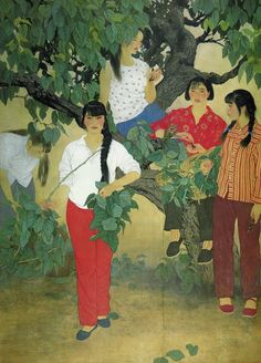 He Jiaying Art And Illustration, Tianjin, Modern Art, Contemporary Art, China Art, Chinese Painting, Calligraphy Art, Silk Painting, Traditional Art