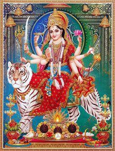 Durga Saptashati Month is a very auspicious month to invoke the powers of Goddess Durga Lord Durga, Durga Kali, Shiva Shakti, Shiva Parvati Images, Durga Images, Lakshmi Images, Maa Durga Photo, Cosmic Egg, Navratri Images
