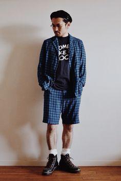 カンゴールのベレーのコーディネート  http://www.lion-do.jp/mall/products/detail.php?product_id=35  #ベレー #ベレー帽 #帽子 #コーディネート #メンズ #kangol
