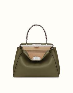 31c8e05819b4 Fendi selleria peekaboo small Small Handbags