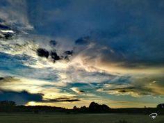 SUNSET OVER SCHWEINFURT