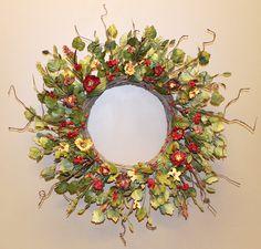 Everyday floral wreath