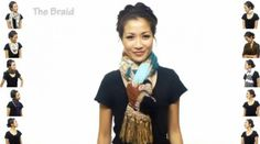 Scarf-tying 101: Are you an Infinity or a Modern Loop? (Video) - The Style Blog - The Washington Post