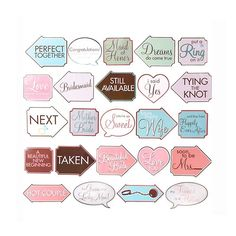 These signs are absolutely adorable! They are perfect for special occasions!  backdropoutlet.com