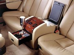 Maybach - this is the way to commute!