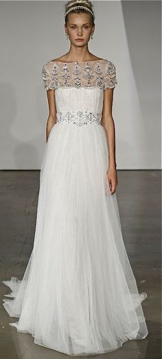 Marchesa Grecian Style Gown